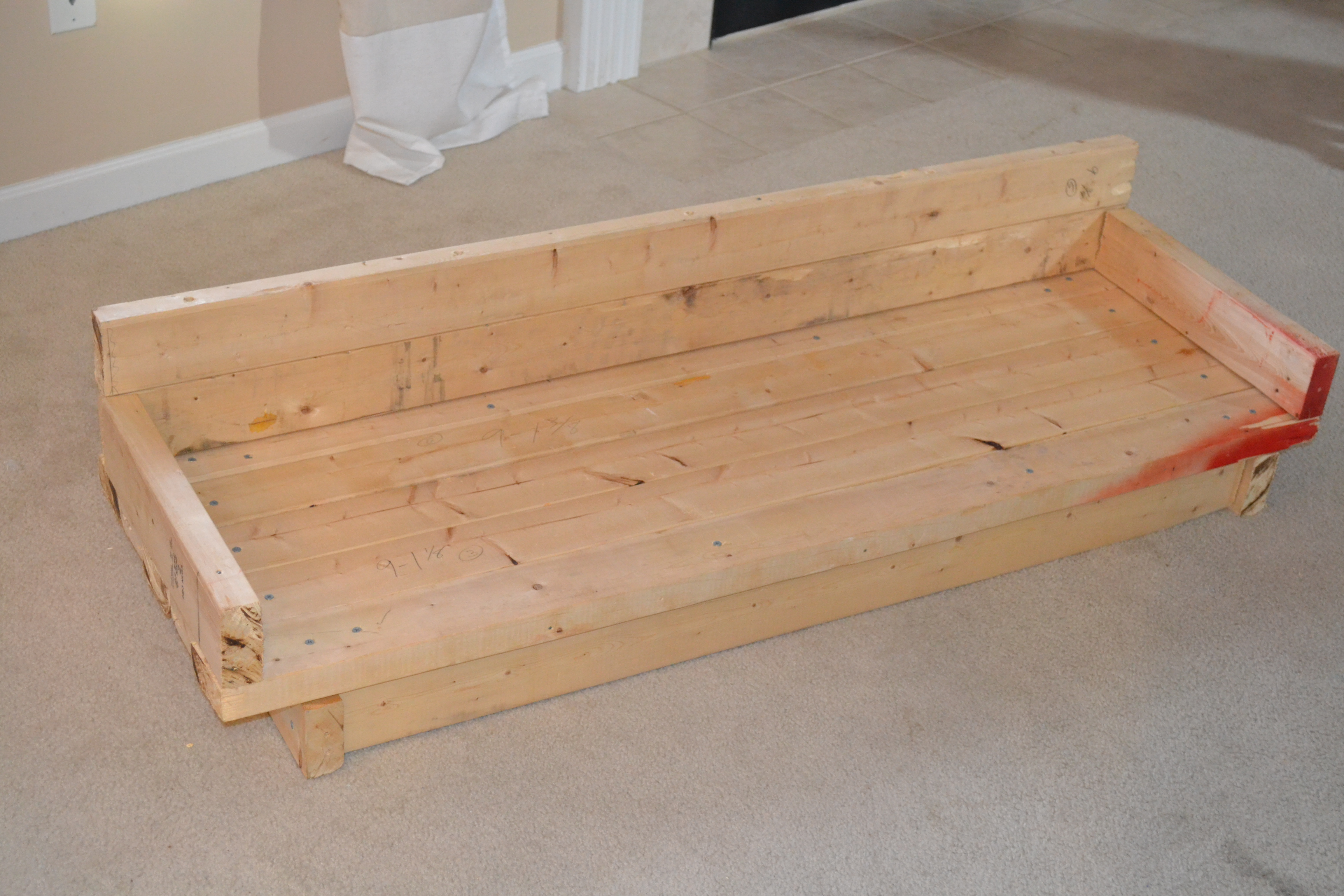 Daybed frame wooden - Then